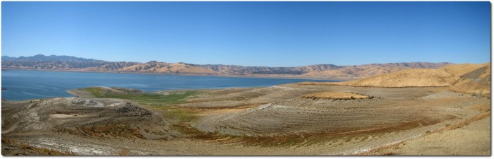 Panorma San Luis Reservoir