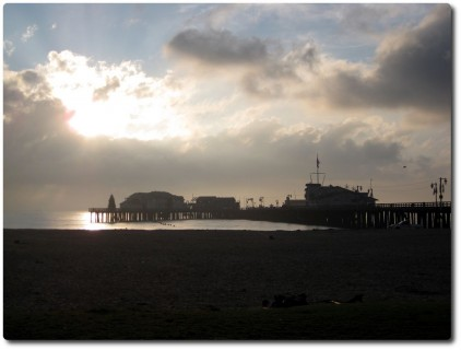 Pier in Santa Barbara