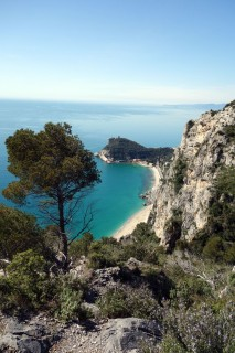 Malerische Saraceni Bucht