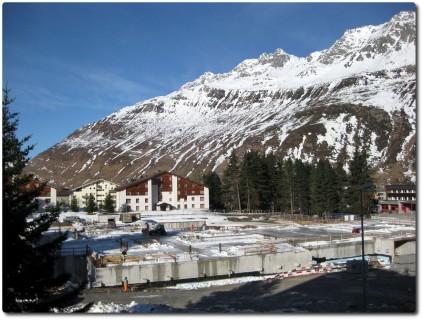 Andermatt - Sawiris 5* Hotel im Bau