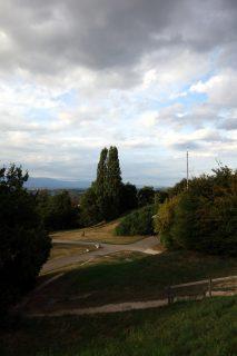 Singnal de Bernex - Blick in Richtung Genf