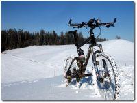 Schneebiken Front