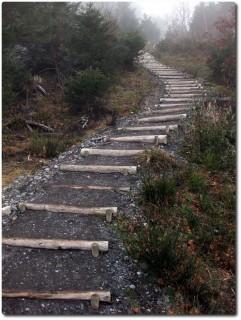 Treppen bei Hindergütsch