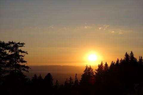 Sonnenuntergang Schwarzenbühl