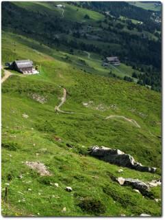 Der gleiche Trail bei schönem Wetter