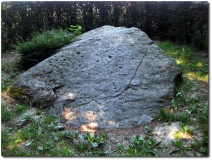 Jungsteinzeitlicher Schalenstein bei Munters