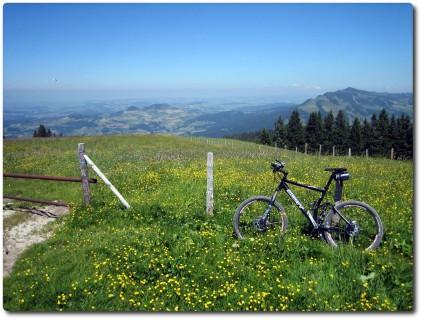 Aussicht vom Schwyberg