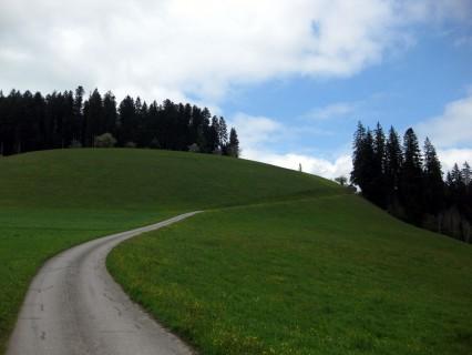 Aufstieg zur Scheidegg
