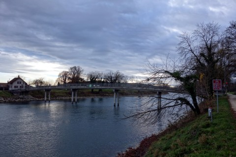 Aarebrücke bei Scheuren