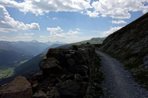 Panoramaweg in der Schiawang