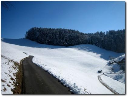 Winterlandschaft bei Schwand