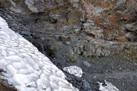 Schneefeld bei Schwarzbach