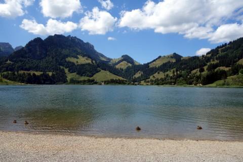 Schwarzsee Strandleben