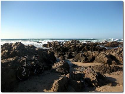 Scott Mountainbike am Meer