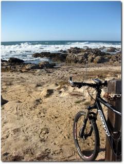 Blick zum Horizont - Ich und mein Bike