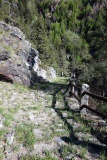 Sentiero 6 - Grobes Pflaster