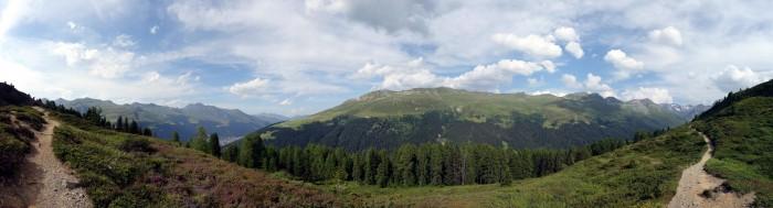 Panorama Trail Äbirügg - Sertigdorf