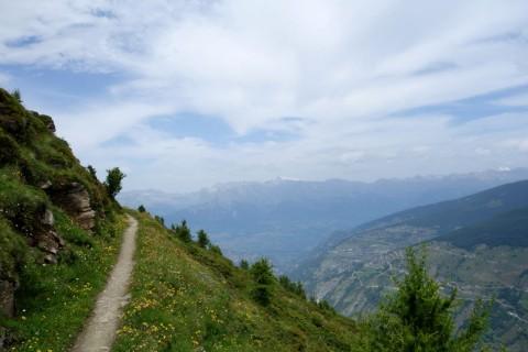 Trails bei Plan de la Cha - Nord