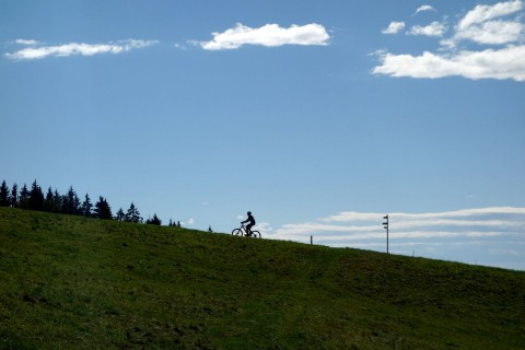 Horizontbiker bei Sibere