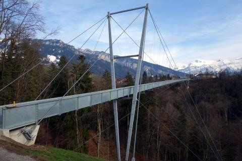 Hängebrücke Sigriswil - Panoramaweg
