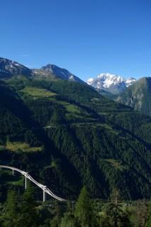 Blick auf Simplon und Ganterbrücke