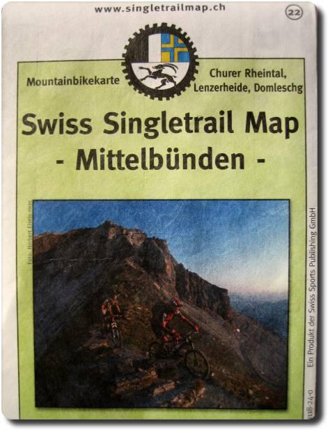Singletrail map tessin