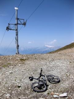 Wo ein Skilift ist, ist auch ein Bikeweg