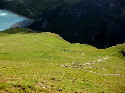 Flowtrail zum Lac de Moiry