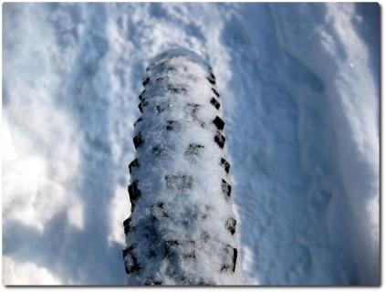 Biken im Winter