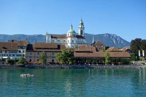 Aarebar Blick - Solothurn