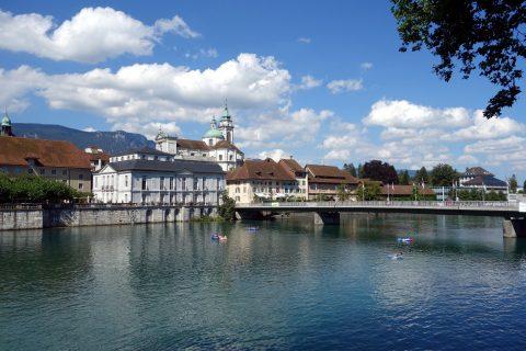 Solothurn und Aareböötle