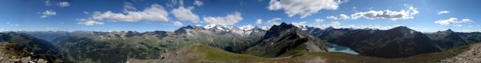 360 Grad Panorama Corne de Sorebois