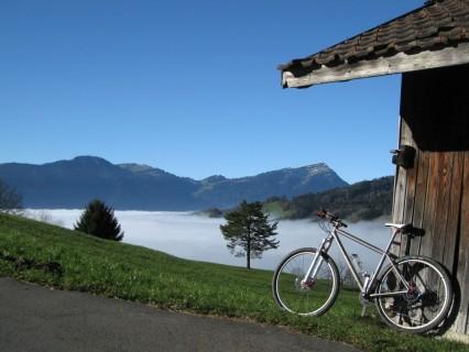 Nebelmeer und tolles Wetter