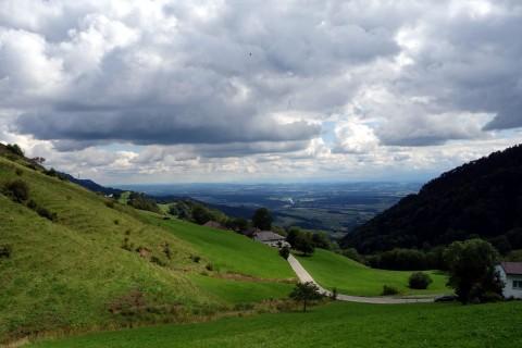Stierenbergloop - Blick vom Balmberg