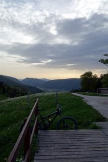 Abendstimmung auf dem Stierenberg