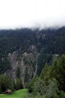 Blick zurück auf die andere Talseite