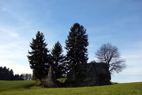 Findling Steinhof