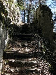 Stigelos - Felstreppen