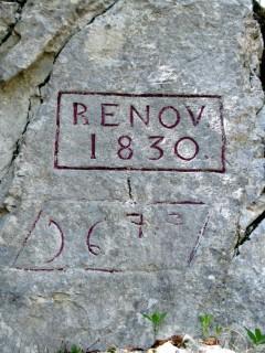 Inschriften der Erbauer
