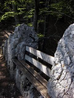 Stigelos - Aussichtsbänkli ganz oben