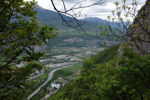 Blick runter nach St-Maurice