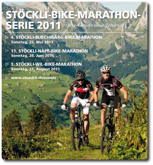 Broschüre Stöckli 2011 Marathons