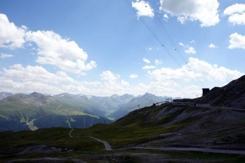 Blick von der Strelahütte