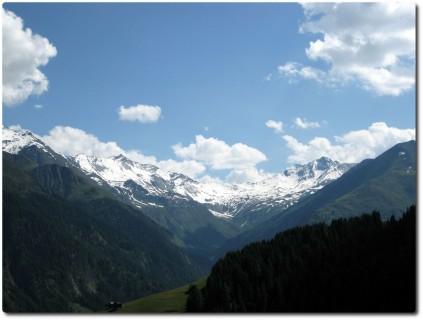 Blick gegen Süden in Richtung Valsertal