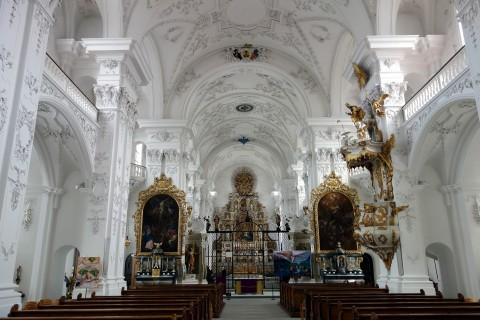 Klosterkirche Sankt Urban - Innenraum