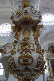 Klosterkirche Sankt Urban - Kanzel