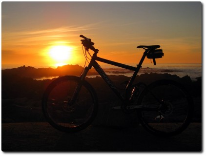 Sonnenuntergangskunst !