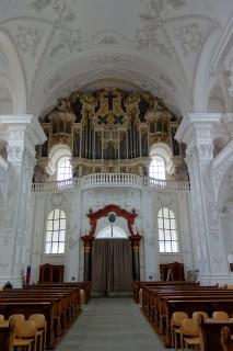 Klosterkirche Sankt Urban - Orgel