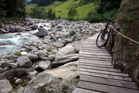 Northshore Trail entlang dem Rein da Medel