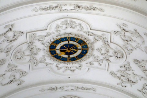 Klosterkirche Sankt Urban - Deckenuhr